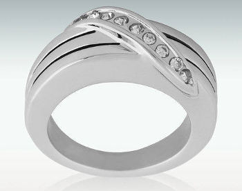 Path to Heaven Silver Cremation Ash Ring