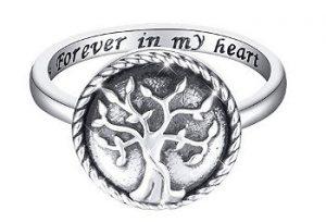 Tree of Life Urn Ring