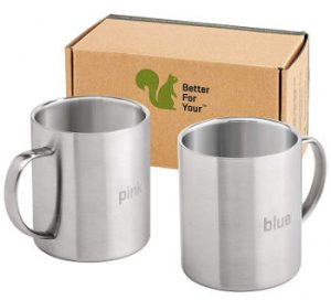Better for You Stainless Steel Coffee Mugs