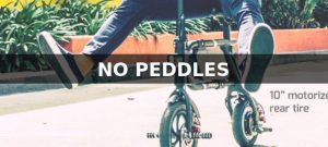 Electric Bike Without Peddles