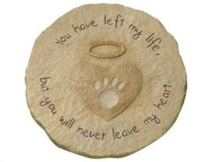 Pet Memorial Stepping Stones