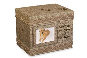 Dog Urn Ash Chest