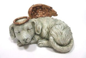 Sleeping Angel Dog Urn