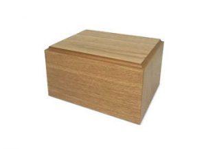 SmartChoice Wooden Urn