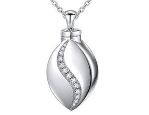 Forever in my heart urn necklace
